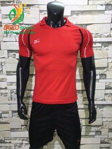 Áo bóng chuyền nam màu đỏ  2018-B12
