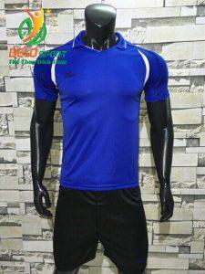 Áo bóng chuyền nam màu xanh dương đậm  2018-B11