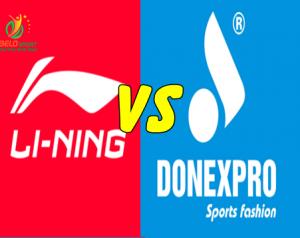 Áo cầu lông Lining và áo cầu lông Donexpro, sản phẩm nào tốt hơn?