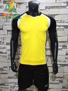 Áo bóng chuyền nam màu vàng pha đen  2018-B16