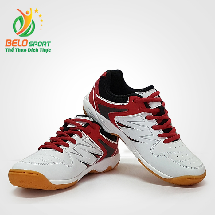 Giày bóng chuyền  PROMAX động lực 17009 màu trắng pha đỏ