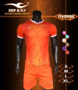Áo bóng đá không logo 2018-18 màu cam