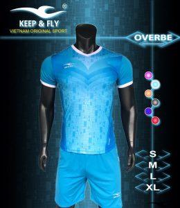 Áo bóng đá không logo 2018-20 màu xanh ngọc