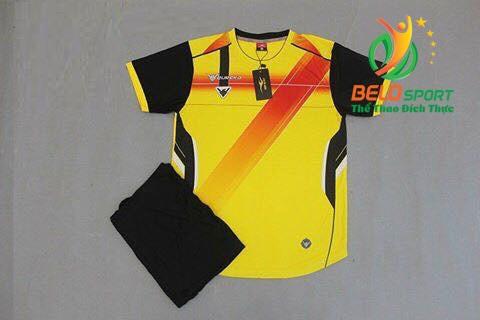 Áo bóng đá không logo 2018-22 màu vàng