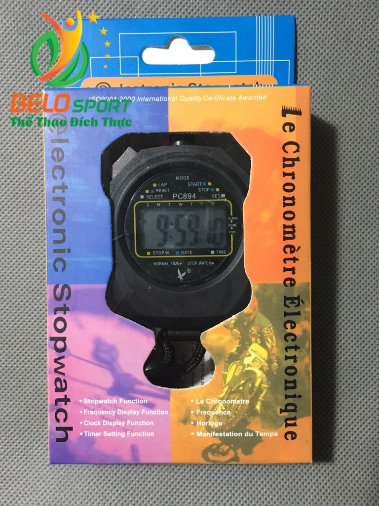 Đồng hồ bấm giây, bấm giờ thể thao 2 láp PC894 chính hãng giá rẻ nhất