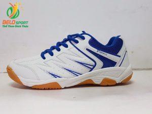 Giày cầu lông động lực PROMAX 17009 màu trắng pha xanh