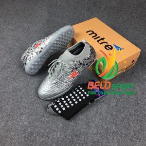 Giày đá bóng động lực MITRE chính hãng 170501 màu bạc