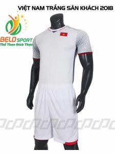 Áo bóng đá Đội tuyển Việt Nam training 2018 màu trắng