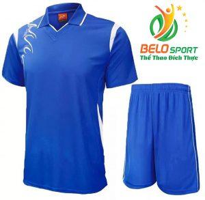 Áo bóng chuyền nam nữ  Belo-2018-068 màu xanh biển