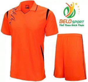 Áo bóng chuyền nam nữ  Belo-2018-068 màu cam