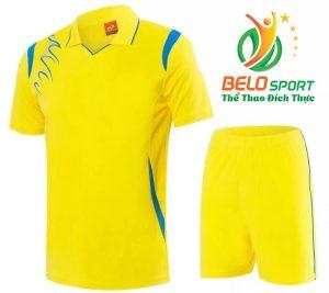 Áo bóng chuyền nam nữ  Belo-2018-068 màu vàng