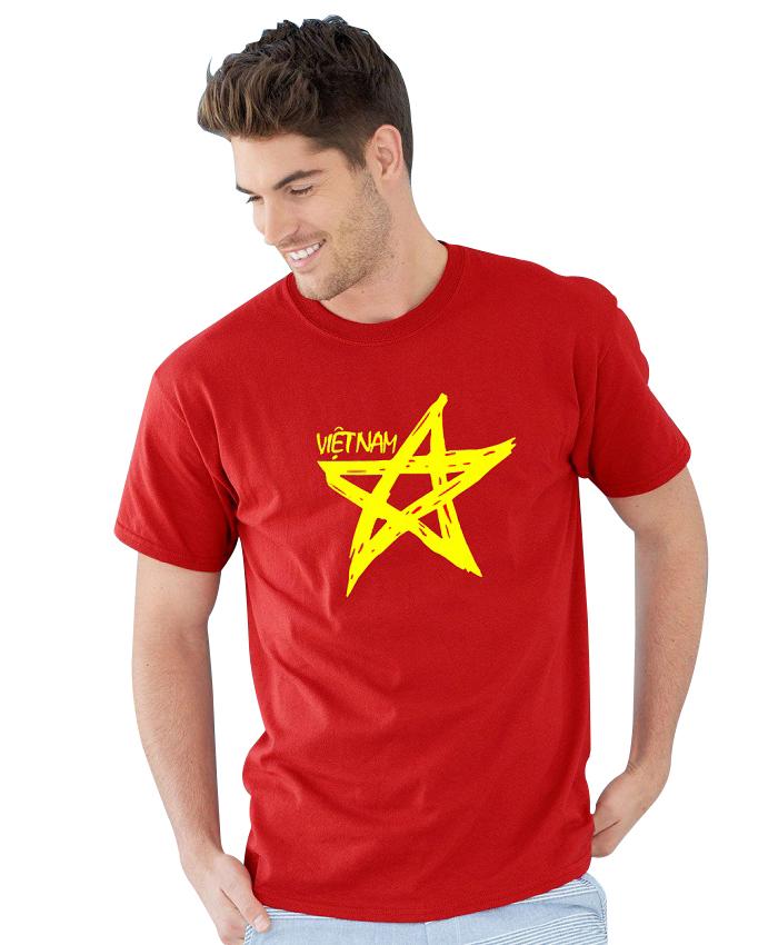 Áo cờ đỏ sao vàng cách điệu giá rẻ nhất Việt Nam ( 27k,30k,35k,40k,45k,49k)