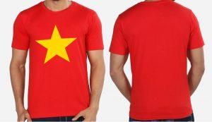 Áo cờ đỏ sao vàng truyền thống giá rẻ nhất Việt Nam ( 27k,30k,35k,40k,45k,49k)