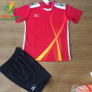 Áo bóng chuyền Mizuno 2018-099 màu đỏ nam nữ