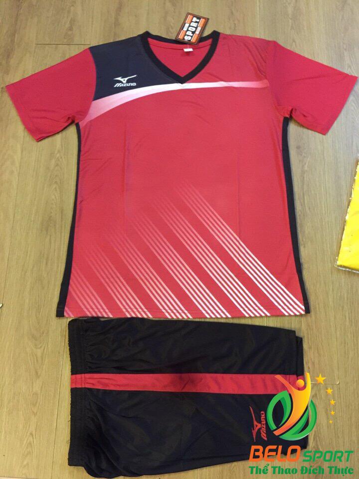 Áo bóng chuyền Mizuno 2018-088 màu đỏ tươi nam nữ