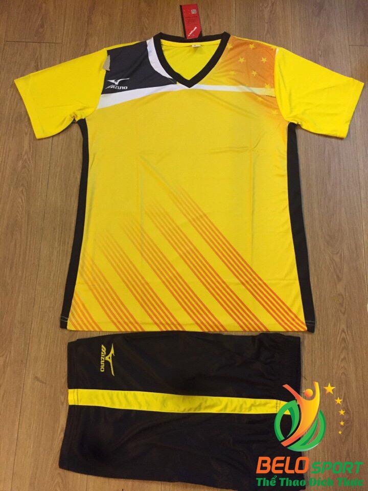 Áo bóng chuyền Mizuno 2018-088 màu vàng tươi nam nữ