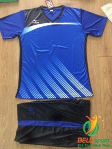 Áo bóng chuyền Mizuno 2018-088 màu xanh biển đậm nam nữ