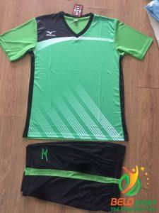 Áo bóng chuyền Mizuno 2018-088 màu xanh lá cây nam nữ