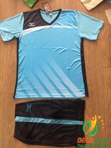 Áo bóng chuyền Mizuno 2018-088 màu xanh nhạt nam nữ