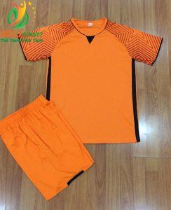 Áo bóng đá không logo Việt Nam màu cam