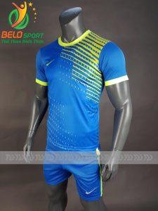 Áo bóng đá không logo Shark 2018 mã S-004 xanh ngọc