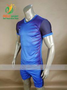 Áo bóng đá không logo Belo D-014 NINJA 2018 xanh biển sỉ lẻ toàn quốc