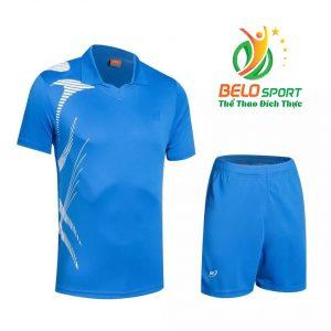 Áo bóng chuyền nam nữ Belo 2018-123 màu xanh biển chính hãng