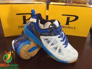 Giày bóng chuyền PROMAX động lực 17088 màu xanh pha trắng