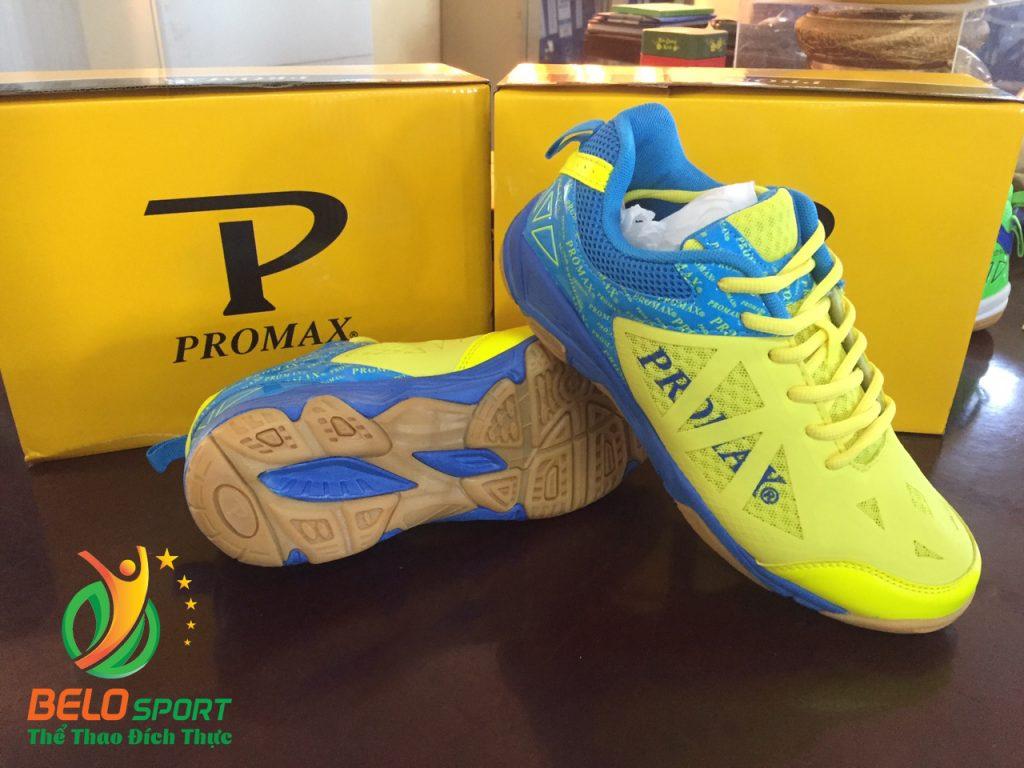 Giày bóng chuyền PROMAX động lực 17088 màu xanh pha vàng
