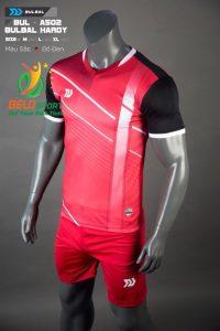 Áo bóng đá không logo Belo D-019 màu đỏ