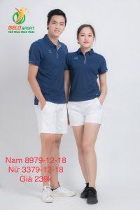 Áo cầu lông nam nữ Donex pro mã 79-12-18 chính hãng màu xanh tím than