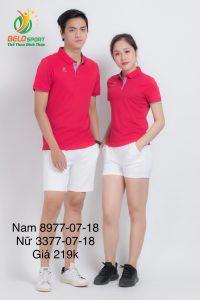Áo cầu lông nam nữ Donex pro mã 77-07-18 chính hãng màu đỏ