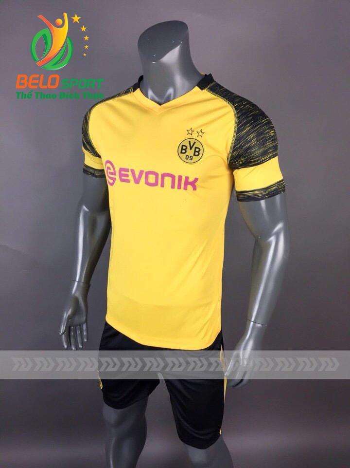Áo Bóng đá  CLB Dortmund mè thái cao cấp 2018-2019 màu vàng