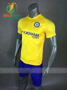 Áo Bóng đá CLB Chelsea mè thái cao cấp 2018-2019 màu vàng