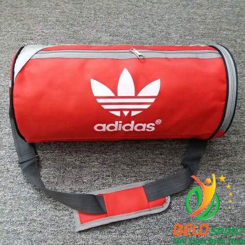 Túi trống đựng đồ thể thao T2018-02 màu đỏ