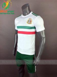 Áo Bóng đá chính hãng đội tuyển Mexico world cup 2018 màu trắng