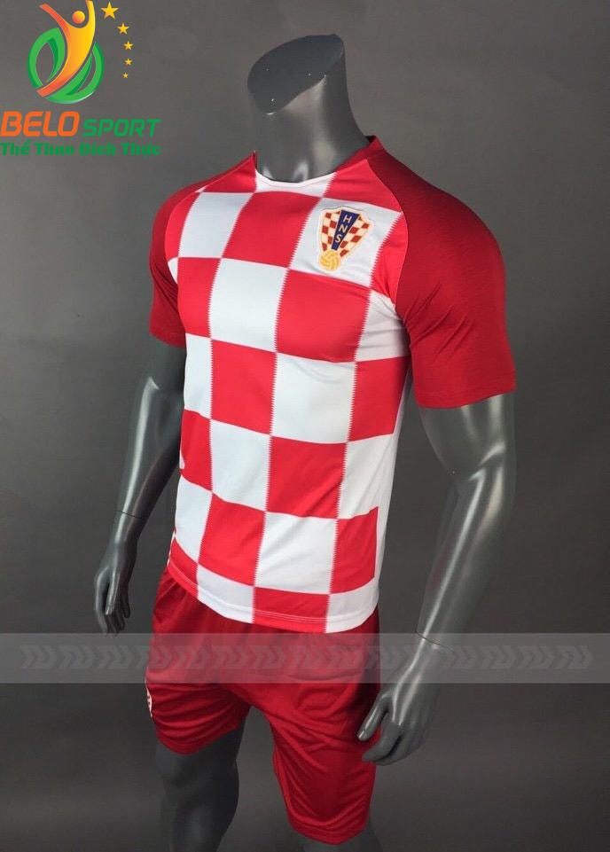 Áo Bóng đá chính hãng đội tuyển Croatia world cup 2018 màu đỏ