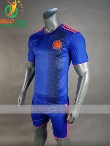 Áo Bóng đá đội tuyển Colombia world cup 2018 màu xanh