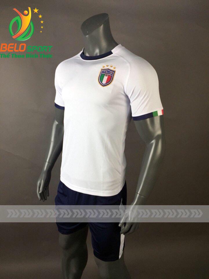 Áo Bóng đá  đội tuyển Italia world cup 2018 màu trắng