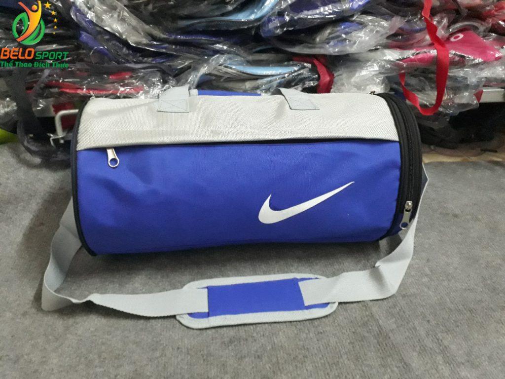Túi trống đựng đồ thể thao T2018-01 màu xanh dương đậm