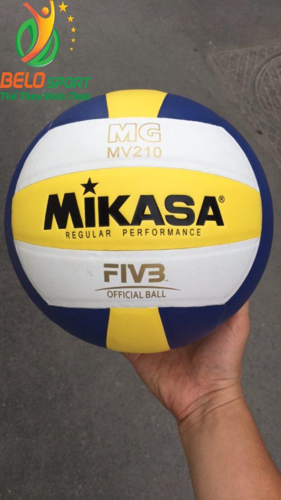 Quả bóng chuyền da mikasa MV210