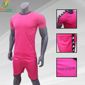 Áo bóng đá Kappa T&T 2018-2019  màu hồng
