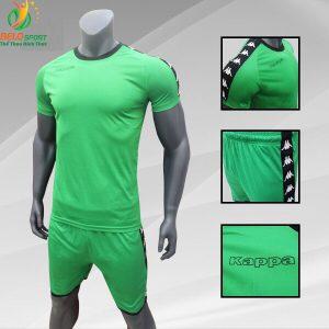 Áo bóng đá Kappa T&T 2018-2019  màu xanh lá