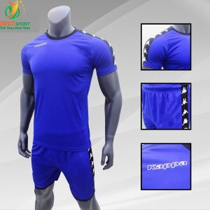 Áo bóng đá Kappa T&T 2018-2019  màu xanh dương