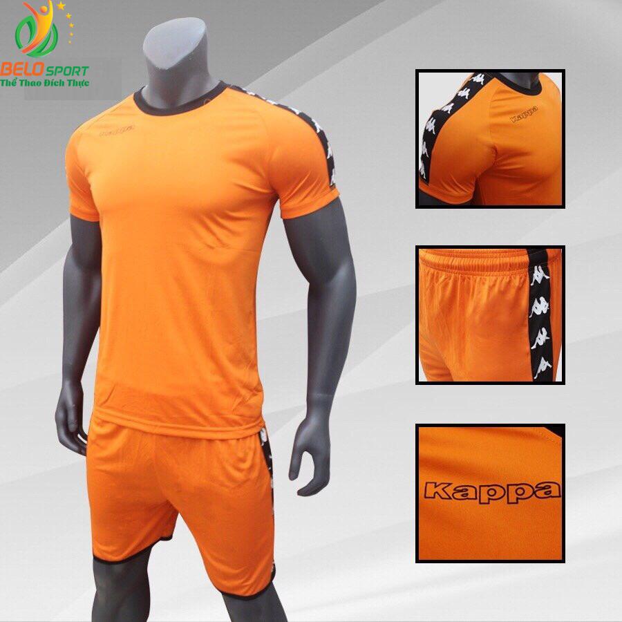 Áo bóng đá Kappa T&T 2018-2019  màu cam