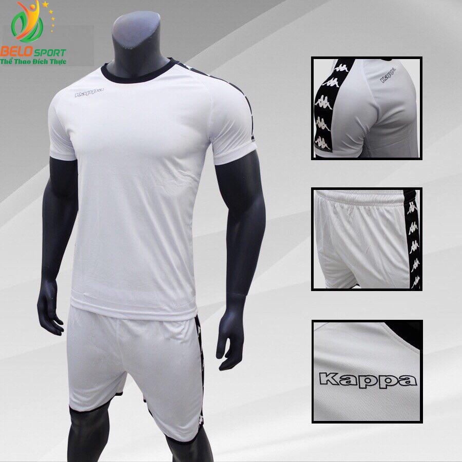 Áo bóng đá Kappa T&T 2018-2019  màu trắng