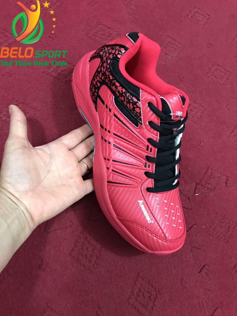 Giày cầu lông chính hãng kawasaki 061 màu đỏ hồng