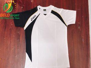 Áo bóng chuyền nữ Asics màu trắng hàng cao cấp