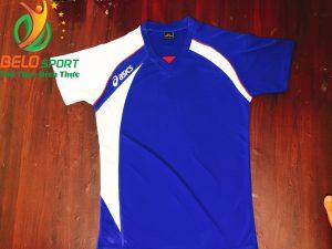 Áo bóng chuyền nam Asics màu xanh dương hàng cao cấp