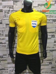 Áo Trọng Tài FiFa 2018 màu vàng